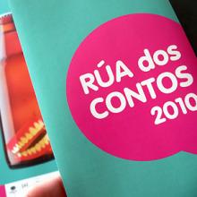 Rúa dos Contos 2010. Um projeto de Design, Ilustração, Publicidade e Fotografia de Gende Estudio - 20.10.2010