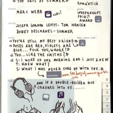 Moleskine Film Journal. A Design, Illustration, Advertising, Film, Video, and TV project by Migue Guillamón - 10.24.2010