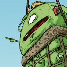 Green Beans Project. Un proyecto de Ilustración de Jonatan Cantero - 09.11.2010