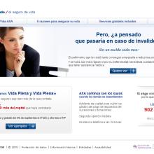 AXA -promoción.. Um projeto de Design e Desenvolvimento de software de Isabel Martín - 26.12.2010