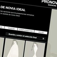 PRONOVIAS. Un proyecto de Ilustración e Ilustración vectorial de Silvia Sanmiquel - 30.11.2009