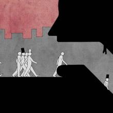 La boca del metro. Um projeto de Ilustração de Luis Linares Izquierdo - 06.04.2010