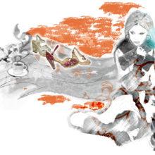 Castañer Winter /Autumn. Un proyecto de Ilustración y Publicidad de laKarulina - 25.01.2011