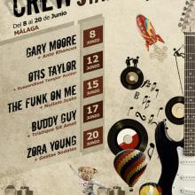 Crew Station Festival. Um projeto de Design e Publicidade de José Carlos Martínez Maillo - 06.03.2011