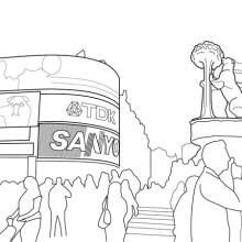 Desplazados. Un proyecto de Ilustración de Marta Sisón Barrero - 13.03.2011