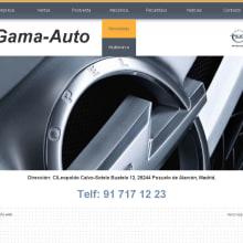 Gama Auto. Um projeto de Desenvolvimento de software e Informática de Isabel Martín - 02.06.2011