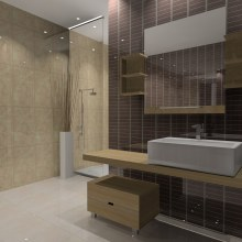 Baño . A Design, Installations, and 3D project by chandra - 06.21.2011