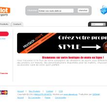 Maillotsports. Un proyecto de Diseño y Desarrollo de software de olivier DAURAT - 26.08.2011