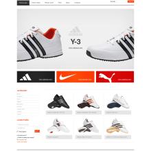 sports shoes. Un proyecto de Diseño, Motion Graphics, Desarrollo de software, UI / UX e Informática de olivier DAURAT - 26.08.2011