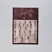 Gráfica · Clandestino Festival. Un proyecto de Diseño de Roberto Vidal Studio - 02.11.2011