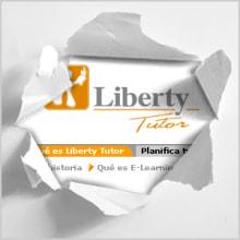 Liberty Tutor (Intranet propuesta). Un proyecto de Ilustración, Publicidad e Informática de Joel Astete - 24.11.2011