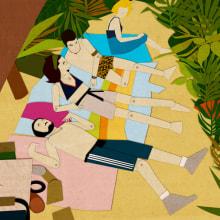 La isla de los nominados. Um projeto de Ilustração e Cinema, Vídeo e TV de Diana Bóveda García - 12.12.2011