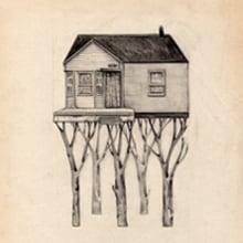 Casas árbol. Un proyecto de Ilustración de anne - 02.01.2012