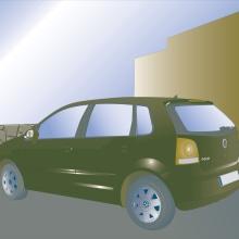 VW Duotono. Un proyecto de Diseño e Ilustración de Marta Sánchez García - 30.01.2012
