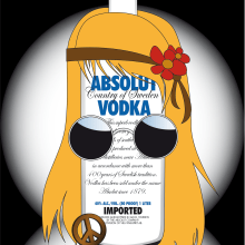 Absolut For All. Un proyecto de Diseño, Ilustración y Publicidad de Marta Sánchez García - 30.01.2012