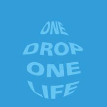 One drop One life. Un proyecto de Diseño y Publicidad de Alejandro Mazuelas Kamiruaga - 29.02.2012