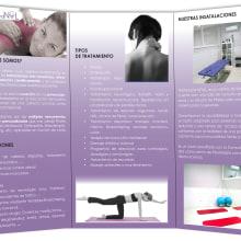 Folleto fisioterapia Noal. A Design, Werbung und Fotografie project by Alana García Ortega - 10.03.2012