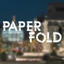 Tipografia-Paper Fold. Um projeto de Design, Ilustração e 3D de Marc Calvo - 23.03.2012