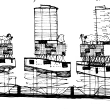 ARQUITECTURA. Un proyecto de Ilustración e Instalaciones de Alfonso Girón Pérez - 18.04.2012