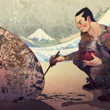 Tsunami. A Illustration project by Jaime Posadas Fernández - 05.04.2012