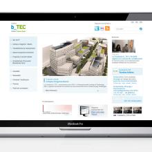 Fundació b_TEC. Un proyecto de Diseño y UI / UX de laKarulina - 15.12.2011