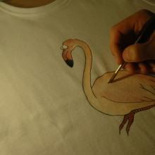 Dibujo sobre textil. Un proyecto de  de Lara Sànchez Guirado - 17.05.2012