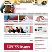 Asociación de Jóvenes Empresarios de Móstoles. A Software Development project by Francisco Javier Martínez Pardillo - 06.28.2012