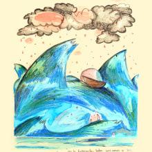 La nostalgia de Alfredo -proyecto personal-. Un proyecto de Ilustración de Meri Hernández - 10.07.2012