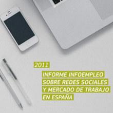 Informe sobre redes sociales y empleo en España. Um projeto de Design e Motion Graphics de Estudio Menta - 24.07.2012