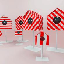 Paxarinos. Un proyecto de Diseño, Instalaciones y 3D de Alejandro Mazuelas Kamiruaga - 26.07.2012