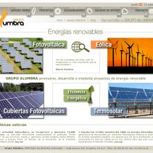 Website Grupo Alumbra. Un proyecto de Diseño y Desarrollo de software de Rafael J. Mora Aguilar - 31.07.2012