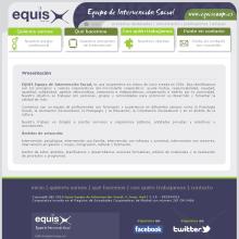 Website EQUIS: Equipo de Intervención Social. Un proyecto de Diseño y Desarrollo de software de Rafael J. Mora Aguilar - 31.07.2012