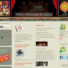 Website Teatro Tyl Tyl. Un proyecto de Diseño y Desarrollo de software de Rafael J. Mora Aguilar - 01.08.2012