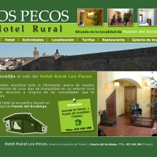 Website Hotel Rural Los Pecos. Un proyecto de Diseño y Desarrollo de software de Rafael J. Mora Aguilar - 01.08.2012