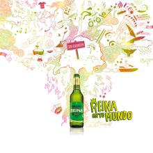 Reina en tu mundo. Un proyecto de Ilustración de Eduardo Bertone - 06.08.2012