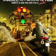 Pulsar Imparable. Un proyecto de Diseño, Ilustración y Publicidad de Abner Recinos Mejia - 07.08.2012