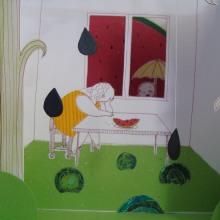 Taller con Elena Odriozola. Un progetto di Illustrazione di Nanen - 05.09.2012