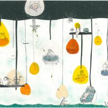 Ciudades Sutiles. Un progetto di Illustrazione di Nanen - 05.09.2012