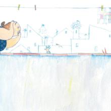 Calle Blas. Un progetto di Illustrazione di Nanen - 05.09.2012