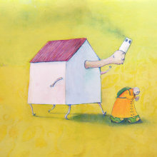 Los sueños perdidos. Un progetto di Illustrazione di Nanen - 05.09.2012