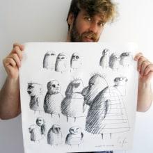 Sociedad del monigote. Un proyecto de Ilustración y Publicidad de Alejandro Mazuelas Kamiruaga - 03.09.2012