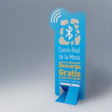 Señalética Bluetooth. Un proyecto de Diseño, Publicidad, Instalaciones y 3D de Alejandro Mazuelas Kamiruaga - 11.09.2012
