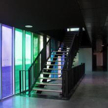 Centro de Servicios Múltiples de Roces-Porceyo (Gijón). Un proyecto de Diseño, Instalaciones y Fotografía de Alejandro Mazuelas Kamiruaga - 14.09.2012
