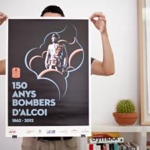 Bombers d'Alcoi. Um projeto de Design e Ilustração de Estudio Menta - 24.09.2012