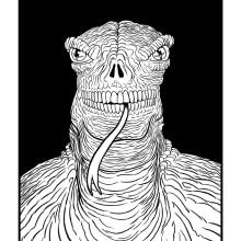 Mutante. Un proyecto de Ilustración de Sergio Covelo Moreira - 25.09.2012