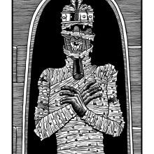 Momia. Un proyecto de Ilustración de Sergio Covelo Moreira - 25.09.2012