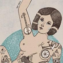 Tatto the Girl. Un proyecto de Diseño e Ilustración de Judit Canela - 01.10.2012