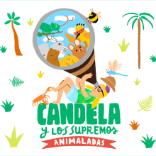 Candela y los Supremos. A Design, Illustration, Music, and Audio project by Albert Aromir Ayuso - 10.29.2012