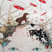 ensue haring dolls. Um projeto de Ilustração de ivana flores - 04.11.2012