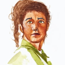 Dibujo artístico y retratos. Um projeto de Ilustração de Marta Vivanco Otero - 05.11.2012